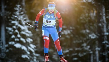 Павлова выиграла спринт наКубке IBU