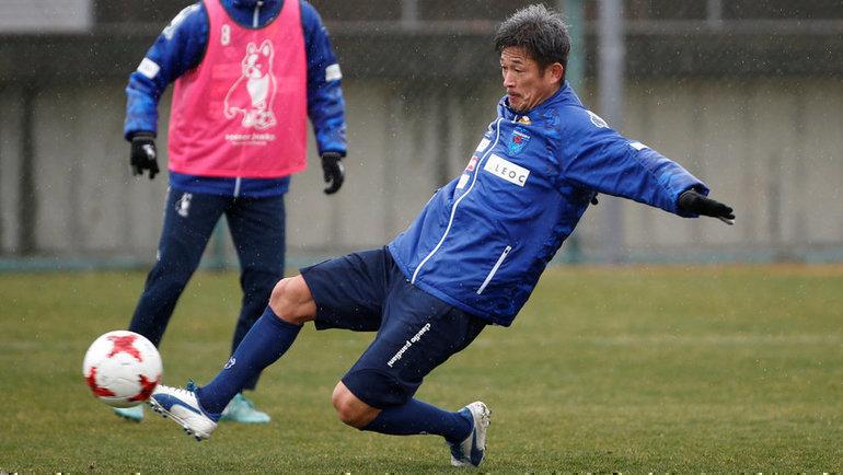 Кадзуеси Миура. Фото Reuters
