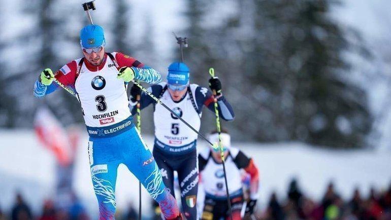 Александр Логинов (напереднем плане). Фото AFP