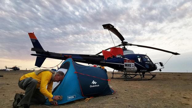 Непростые условия жизни знаменитого ралли. Фото Reuters