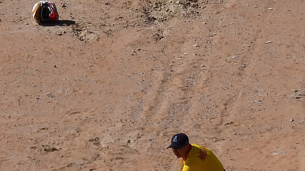 12января. 40-летний Паулу Гонсалвеш погиб на276-м километре седьмого этапа. Фото AFP