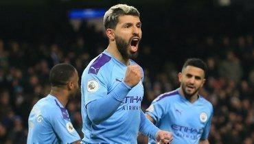 6:1! «Манчестер Сити» разгромил «Астон Виллу», Агуэро оформил хет-трик иобошел поголам Анри