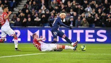 «ПСЖ» сыграл вничью с «Монако»— 3:3.