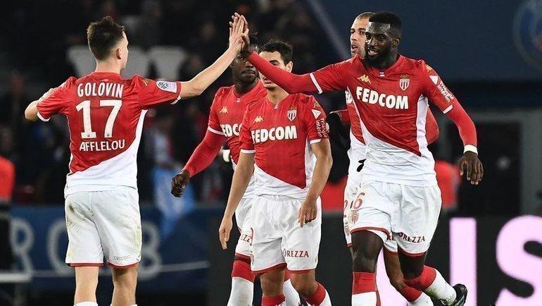 Футбол франции монако псж