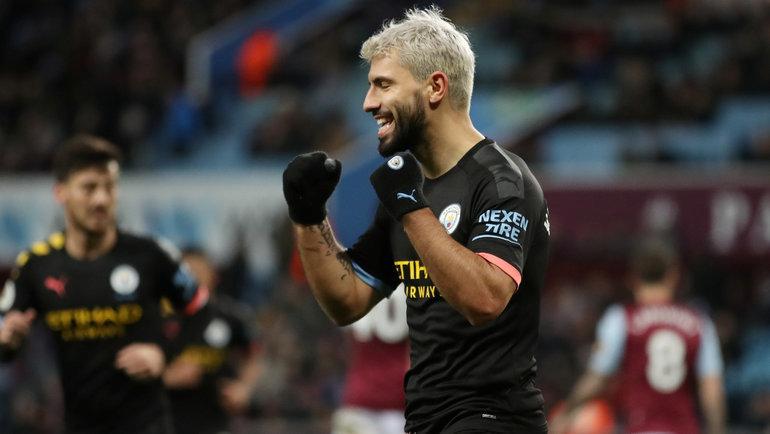 12января. Бирмингем. «Астон Вилла»— «Манчестер Сити»— 1:6. Серхио Агуэро.