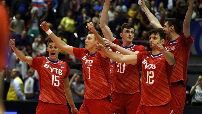 Сборная России узнала соперников олимпийского турнира вТокио-2020. Фото FIVB