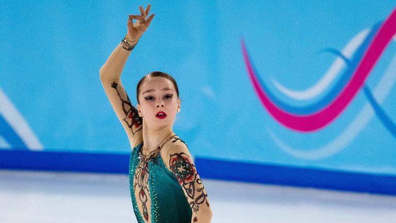 Ксения Синицына. Фото Reuters
