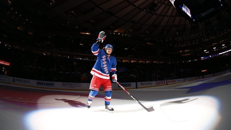 Артемий Панарин. Фото New York Rangers.