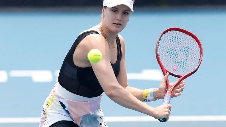 Эжени Бушар. Фото WTA.