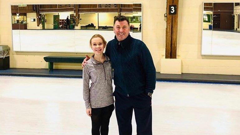 Екатерина Куракова (слева) иБрайан Орсер. Фото instagram.com