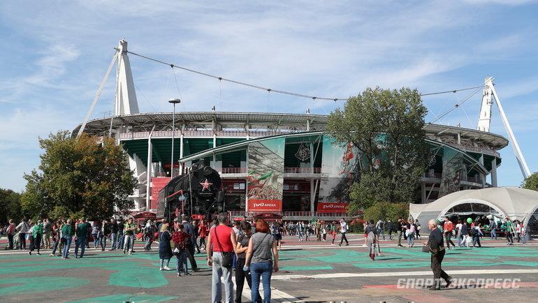 Стадион «РЖД-Арена». Фото Федор Успенский, «СЭ» / Canon EOS-1D X Mark II
