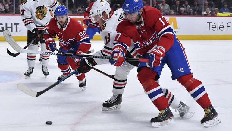 16 января. Монреаль. «Монреаль» – «Чикаго» – 1:4. Илья Ковальчук в атаке. Фото nhl.com