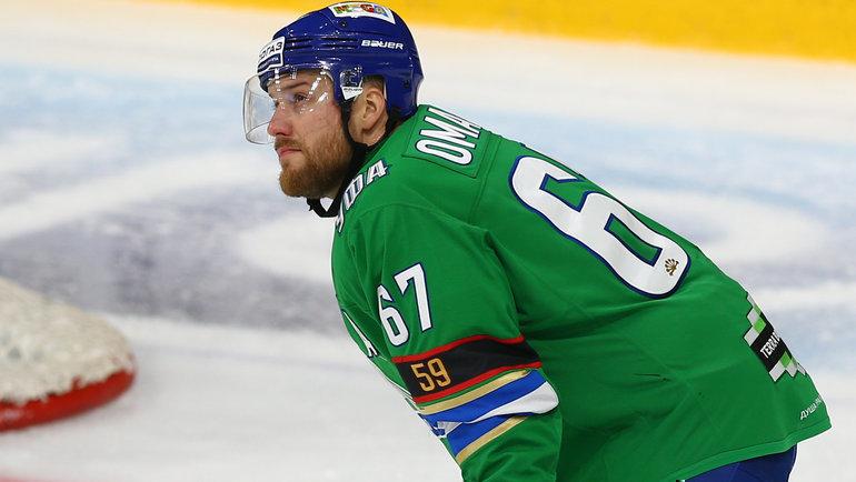 Линус Умарк. Фото photo.khl.ru