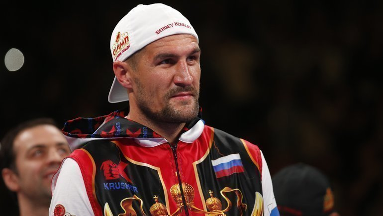 Сергей Ковалев. Фото AFP