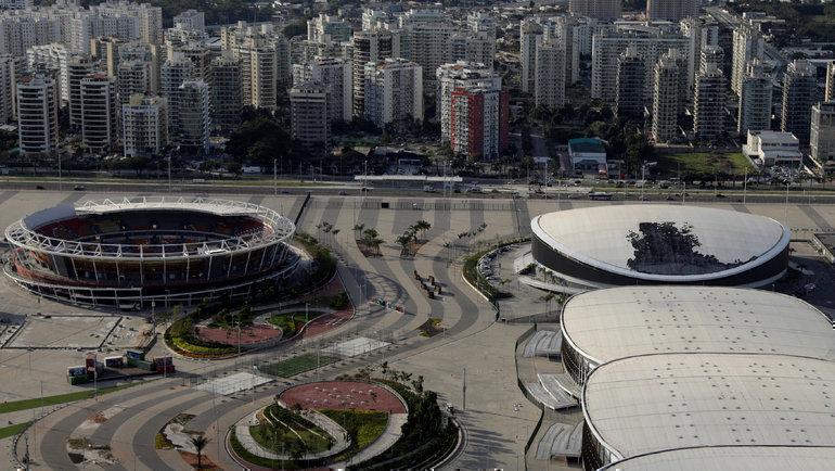 Олимпийский парк Рио-2016. Фото Reuters