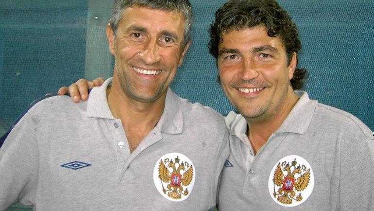 Николай Писарев (справа) иКике Сетьен. Фото Instagram