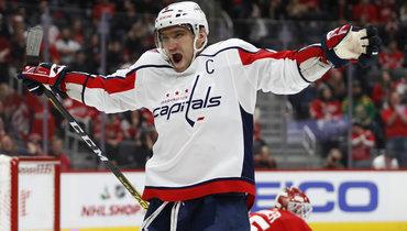 Овечкин осталось забить всего 17 голов вбольшинстве. Итогда онстанет рекордсменом НХЛ