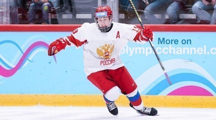 Матвей Мичков. Фото iihf.com.