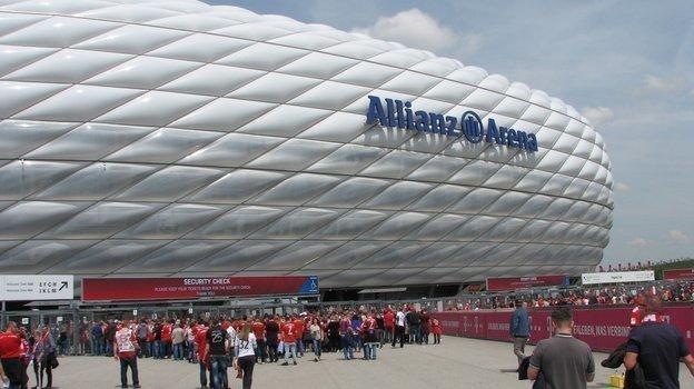 "«Алльянц Арена» в Мюнхене. Фото Анастасия Рацкевич, ""СЭ"""