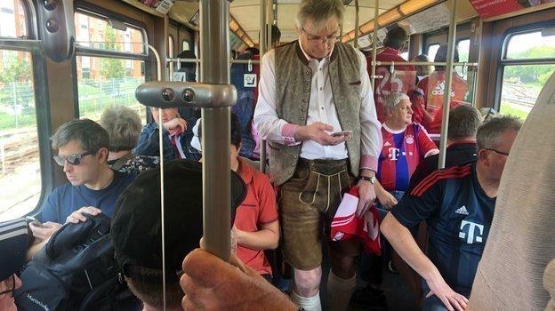 "Мюнхенский метрополитен. Фото Анастасия Рацкевич, ""СЭ"""