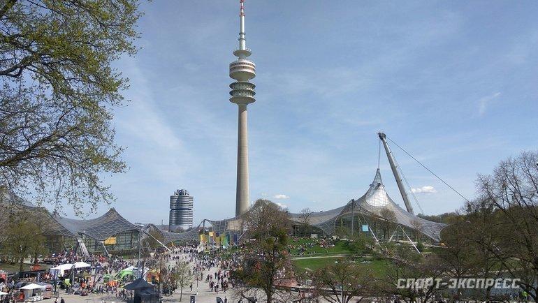 "Олимпийский парк вМюнхене. Фото Анастасия Рацкевич, ""СЭ"""