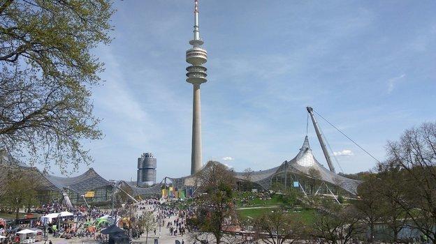 "Олимпийский парк в Мюнхене. Фото Анастасия Рацкевич, ""СЭ"""