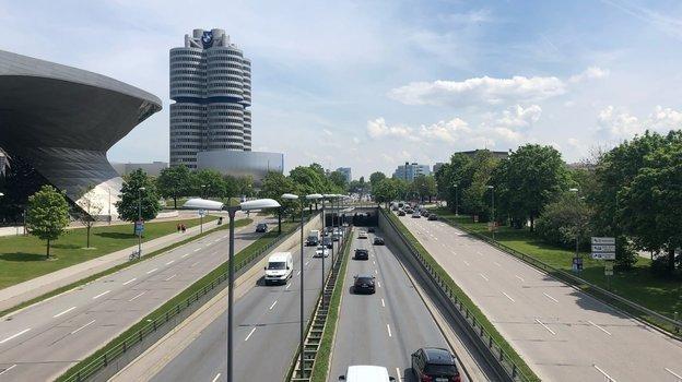 "Музей BMW и BMW Welt (выставочный зал BMW). Фото Анастасия Рацкевич, ""СЭ"""