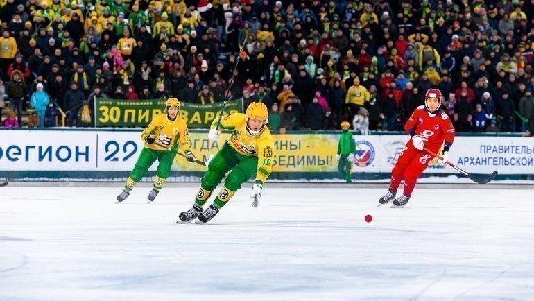«Водник» вдень своего 95-летия несмог обыграть «Енисей» (3:4). Фото vk.com/vodnik29