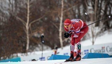 Большунов снова выиграл наКубке мира вЧехии. Россиянин— первый вгонке преследования на15км