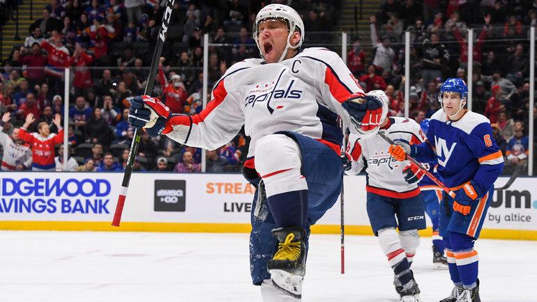Александр Овечкин: капитан «Вашингтона»— втоп-10 снайперов вистории НХЛ. Фото USA Today Sports