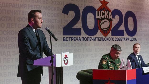 Михаил Сизухин рассказал обуспехах клуба вмедийном пространстве. Фото РКЦСКА