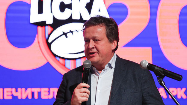 Глава Федерации регби Санкт-Петербурга Михаил Зарицкий— надежный партнерРК ЦСКА уже непервый год. Фото РКЦСКА