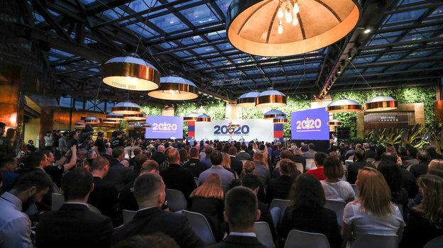 Встреча Попечительского советаРК ЦСКА собрала 15января 2020 года вкинотеатре «Москва» более 350 гостей. Фото РКЦСКА