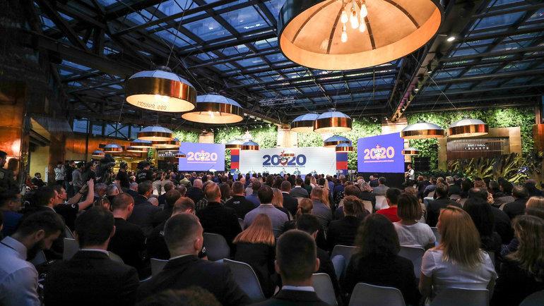 Встреча попечительского советаРК ЦСКА собрала 15января 2020 года вкинотеатре «Москва» более 350 гостей.