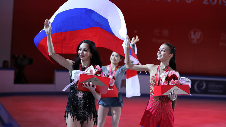 Елизавета Туктамышева иАнна Щербакова. Фото Reuters