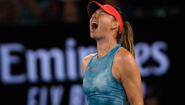Шарапова проиграла Векич впервом круге Australian Open