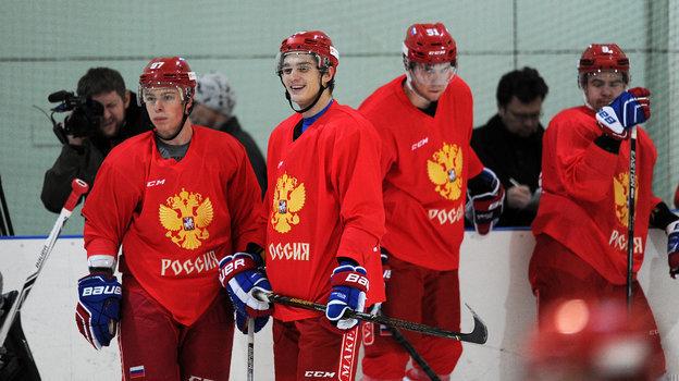 Никита Гусев, Николай Прохоркин, Алексей Береглазов, Виктор Антипин. Фото Алексей Иванов