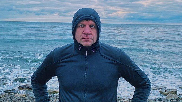 Александр Емельяненко. Фото instagram.com