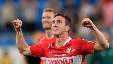 Солтмурад Бакаев попрощался со «Спартаком» иобъявил опереходе в «Рубин»