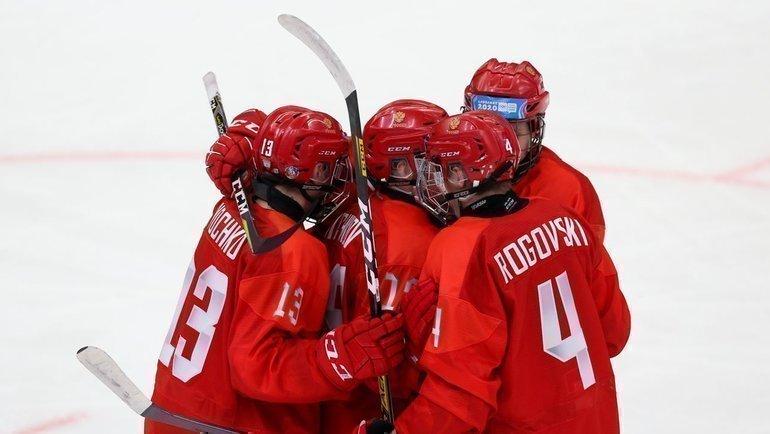 Юниорская сборная России. Фото ФХР