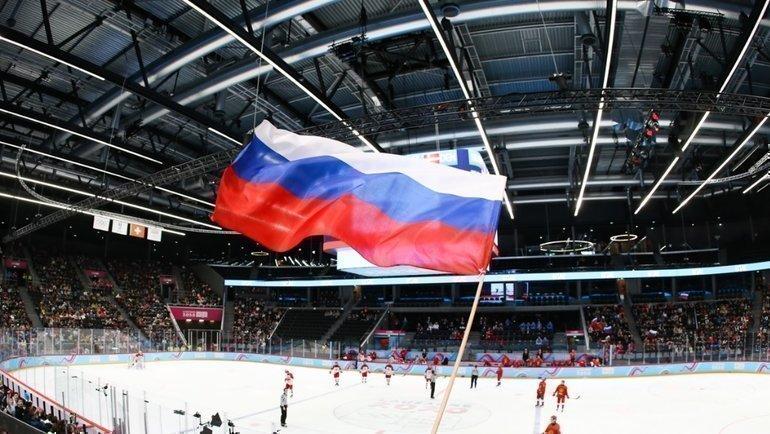 Сборная России выиграла ЮОИ. Фото Твиттер ФХР