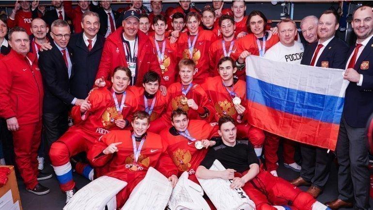 Сборная России U16. Фото Vedran Galijas / justpictures.ch
