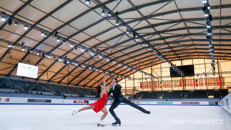 Стадион, где проходят соревнования. Фото Дарья Исаева, «СЭ» / Canon EOS-1D X Mark II