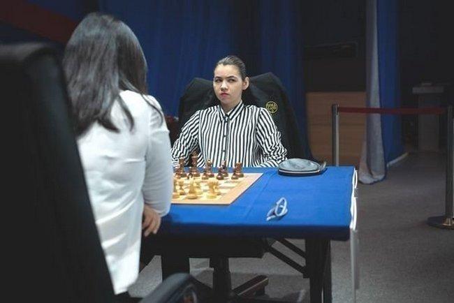 Александра Горячкина. Фото Федерация шахмат России