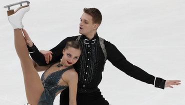 Бойкова иКозловский— чемпионы Европы! Весь пьедестал впарном катании— наш!