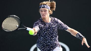 Рублев одержал волевую победу над Гоффеном ивышел в1/8 финала Australian Open