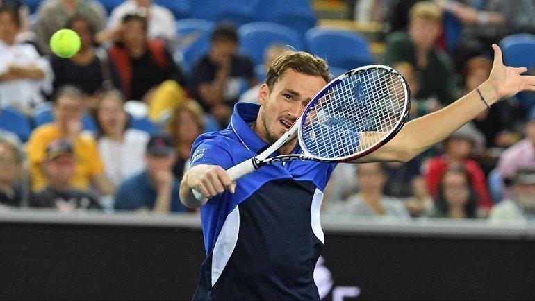 Даниил Медведев. Фото Australian Open