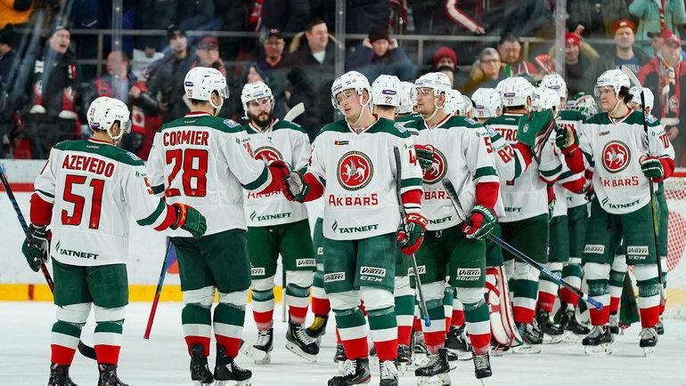 Казанский «АкБарс» стал первым участником Кубка Гагарина 2020 года отВосточной конференции.