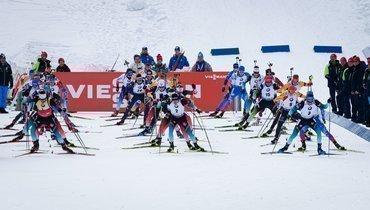 26января. Поклюка. Вмасс-стартах российские биатлонисты несмогли прервать безмедальную серию.