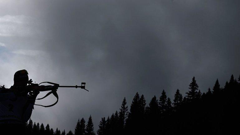 26января. Поклюка. Российские биатлонисты несмогли прервать безмедальную серию вмасс-стартах. Фото AFP